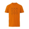 Farbe: orange 5-Ring Heterocyclen - T-Shirts für Nerds